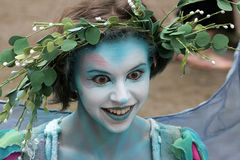 Fairy at Renaissance Faire Royalty Free Stock Photography
