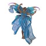 Fairy Saida on White Royalty Free Stock Photo