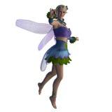 Fairy Sarah on White Royalty Free Stock Image