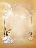 Fairy scenery 1 royalty free illustration