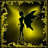 Fairy scuro illustrazione di stock