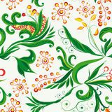 Fairy seamless floral background. Vector illustration for your design Royalty Free Stock Photo