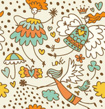 Fairy seamless pattern Stock Images