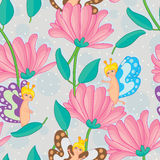 Fairy Seamless Pattern Stock Photo