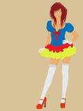 Fairy sexy Fotografia Stock Libera da Diritti