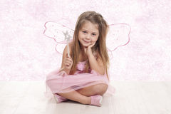Fairy sitting Stock Photos