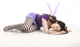 fairy sleeping Στοκ Φωτογραφίες