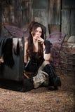 Fairy Smokes Cigar Royalty Free Stock Image