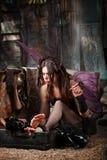 Fairy Smokes Cigar Stock Photography