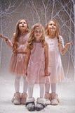 Fairy snowfall Stock Photos
