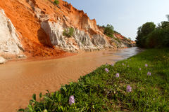 Fairy springs. In Mui Ne, Vietnam stock photography