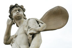 Fairy statue. Statue sculpture stone Stock Photo