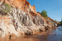 Fairy Stream Canyon. Mui Ne. Vietnam Royalty Free Stock Photos