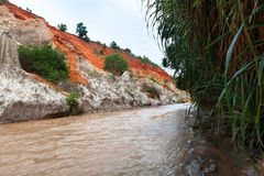 Fairy Stream Canyon. Mui Ne. Vietnam Royalty Free Stock Photography