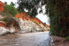 Fairy Stream Canyon. Mui Ne. Vietnam Stock Photo