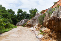 Fairy Stream Canyon. Mui Ne. Vietnam Stock Image