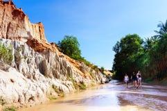 Fairy stream-Mui Ne-Viet Nam Royalty Free Stock Photography