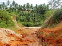 Fairy Stream red canyon in Mui Ne, Vietnam Royalty Free Stock Image