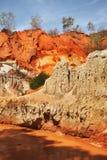 Fairy Stream - Red Canyon between Phan Thiet and Mui Ne. Vietnam Royalty Free Stock Photo