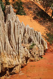 Fairy Stream - Red Canyon between Phan Thiet and Mui Ne. Vietnam Stock Image