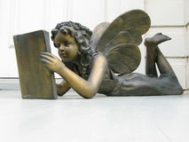 Fairy sul portico Fotografie Stock Libere da Diritti