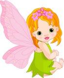 Fairy sveglio del bambino Immagini Stock