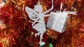 Fairy - the symbol of Christmas. Christmas Thanksgiving Festival The Festival of Happiness of Christians and the World Royalty Free Stock Photos