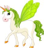 Fairy Tail Green Horse Stock Photos