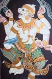 Fairy tailandese di arte di Ramayana Immagine Stock Libera da Diritti