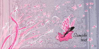 Fairy tale. Textured vector background Stock Images