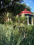Fairy tale alcove. Nikita Botanical Garden, Crimea Stock Images
