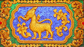 Free Fairy Tale Animal Traditional Thai Style Art Stock Photo - 16683110