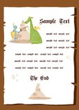 Fairy tale background Royalty Free Stock Photo