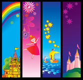 Fairy-tale banners. Royalty Free Stock Images