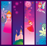 Fairy-tale banners. Stock Photo
