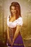 Fairy tale - beautiful woman Royalty Free Stock Images