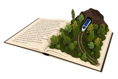 Fairy-tale book royalty free stock photo