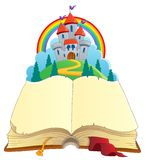 Fairy tale book theme image 1 Royalty Free Stock Image