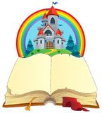 Fairy tale book theme image 2 Stock Photo