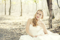 Fairy-tale bride Royalty Free Stock Photo