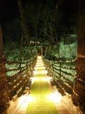 Fairy Tale bridge. Fairy Tale looking bridge in a Japanese village Stock Images