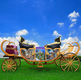 Fairy tale carriage Royalty Free Stock Photo