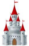 Fairy-tale castle Stock Photos