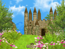 Fairy tale castle Stock Photography