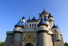 Fairy-tale castle Stock Photography