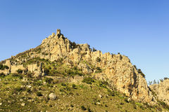 Fairy Tale Castle of Hilarion in Northern Cyprus. Fairy Tale Castle of Saint Hilarion in Northern Cyprus stock photography
