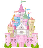 Fairy Tale Castle. Fairy Tale magic Princess Castle Royalty Free Stock Images