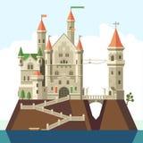 Fairy-tale castle of my dreams Stock Photos