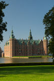 Fairy tale castle. Romantic Frederiksborg Palace in Hillerød Royalty Free Stock Images