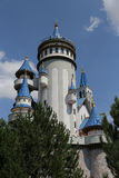 Fairy tale castle in Sazova Science, Art and Cultural Park in Es Stock Photo